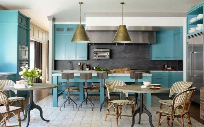 Majestic Blue Kitchen Dwellingdecor