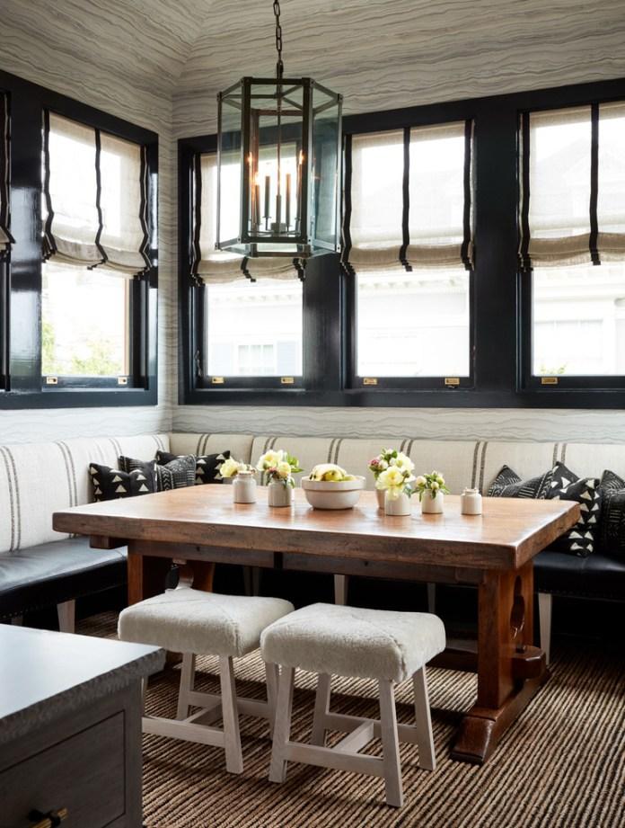 Breakfast Nook Ideas For Your Kitchen dwellingdecor (16)