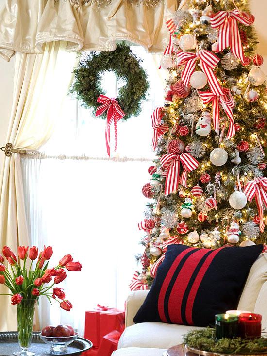 Christmas Living Room Decorations dwellingdecor (11)
