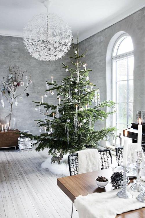 Christmas Living Room Decorations dwellingdecor (29)