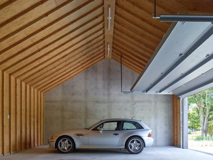 Farmhouse Attached Two-car Garage Dwellingdecor