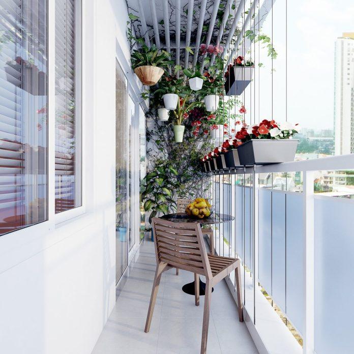 Hanging Balcony Garden Dwellingdecor