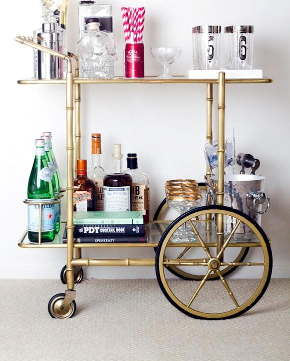 Bar Cart Designs Ideas (14)