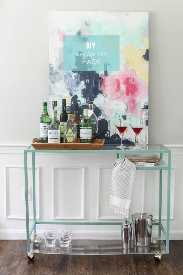 Bar Cart Designs Ideas (15)