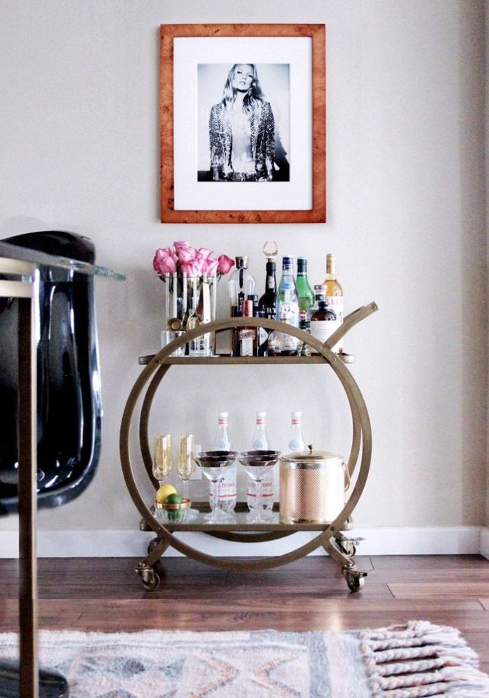 Bar Cart Designs Ideas (23)