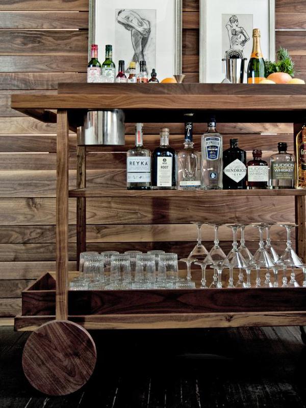 Bar Cart Designs Ideas (26)