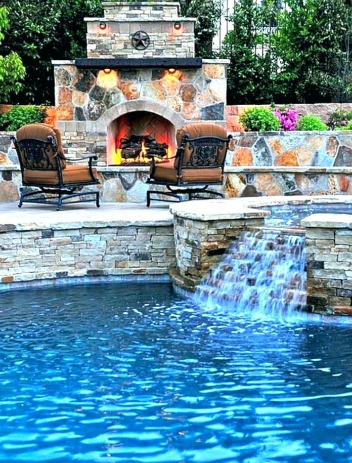 Pool Waterfall Ideas (40)