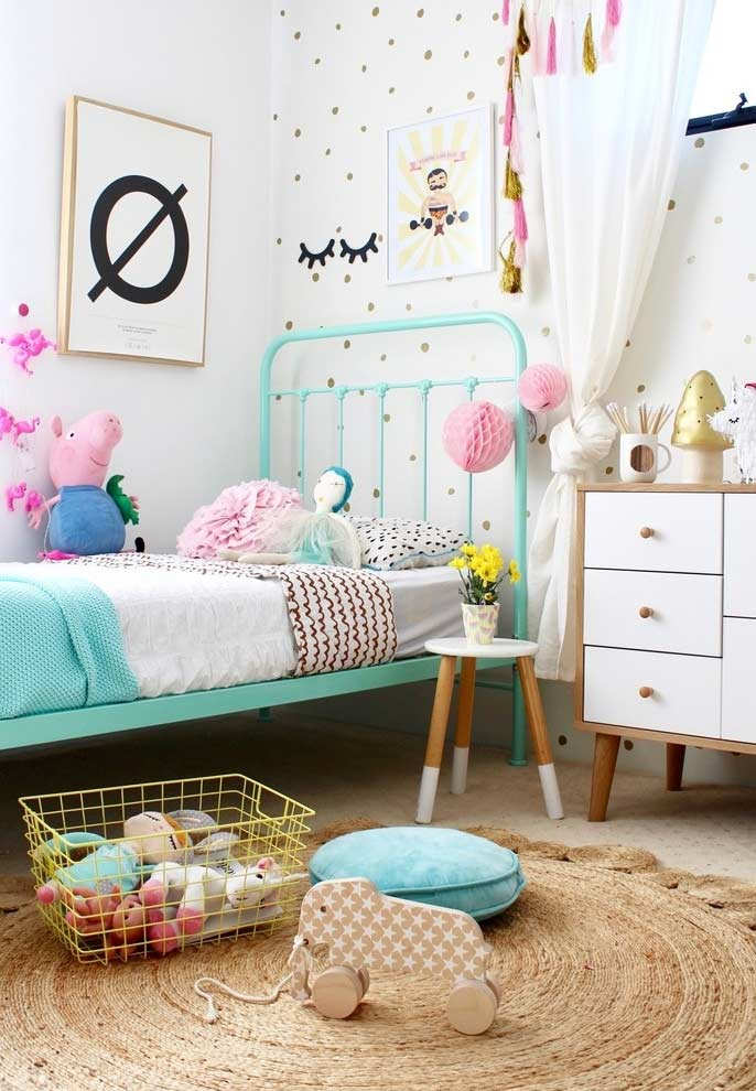 Mix items and themes in the decor