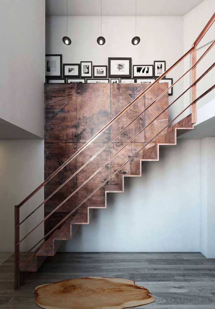 01. The corten steel lining was perfect in the combination of wall and stairs.