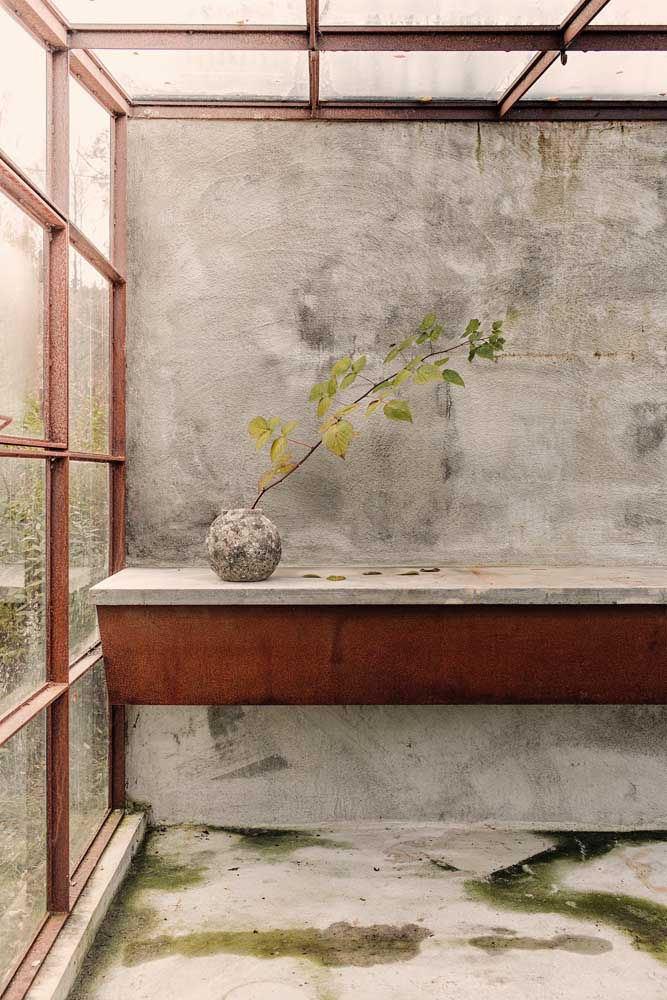 19. What do you think about mixing some materials with corten steel?