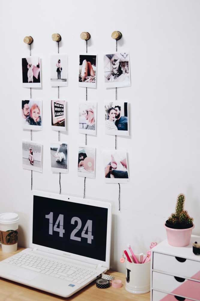 34. Look what a creative photo panel. The coolest thing is that all the photos are well organized.
