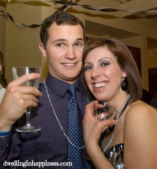 This is our first picture together, New Years, 2009!