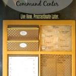 Glamorously Girly Command Center Reveal