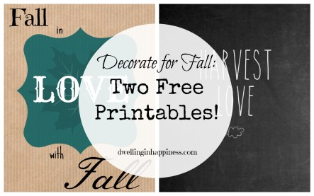 Free Printables Main Pic