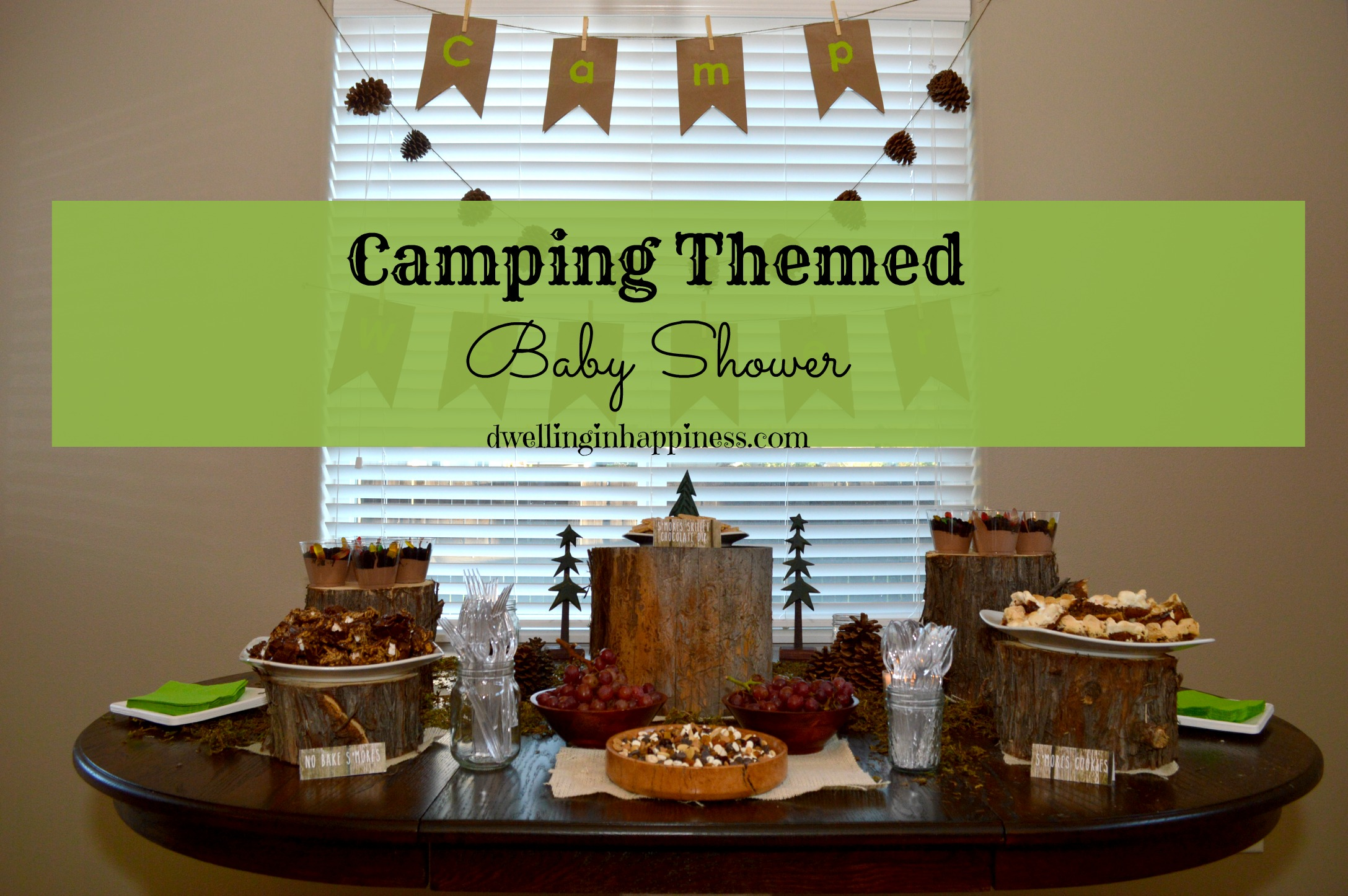 Exceptional Things Are Finally Calming Down A Little Around Here. Our Holiday Weekend  Was A Super Busy One. As You Can See, We Threw A Camping Themed Baby Shower  ...