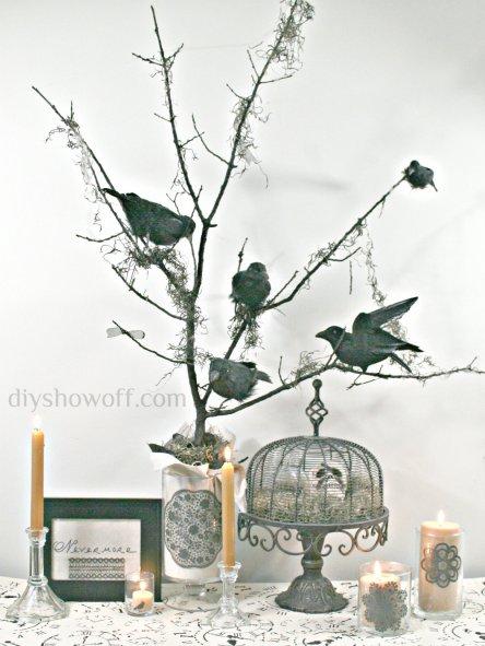 DIY-Halloween-Nevermore-Tree