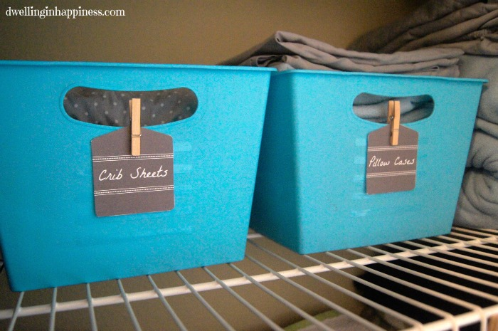 Organize Your Linen Closet Part - 38: 5. Put Everyday Items In Easy To Reach Spots