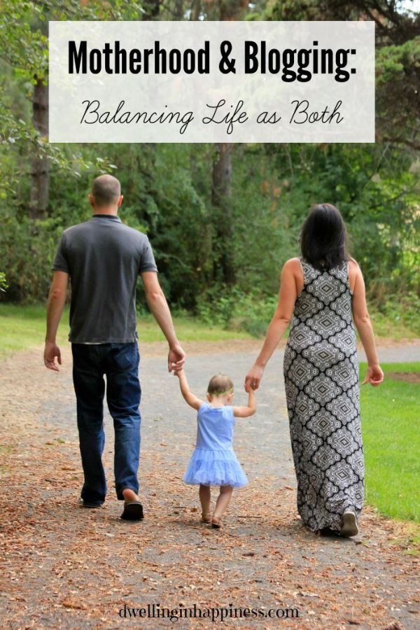 Motherhood & Blogging: Balancing Life as Both from Dwelling in Happiness