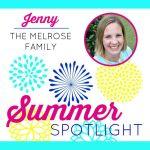 Summer Spotlight: Jenny From The Melrose Family