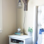 How to Make Easy Corbel Sconce Lights for your Bedroom