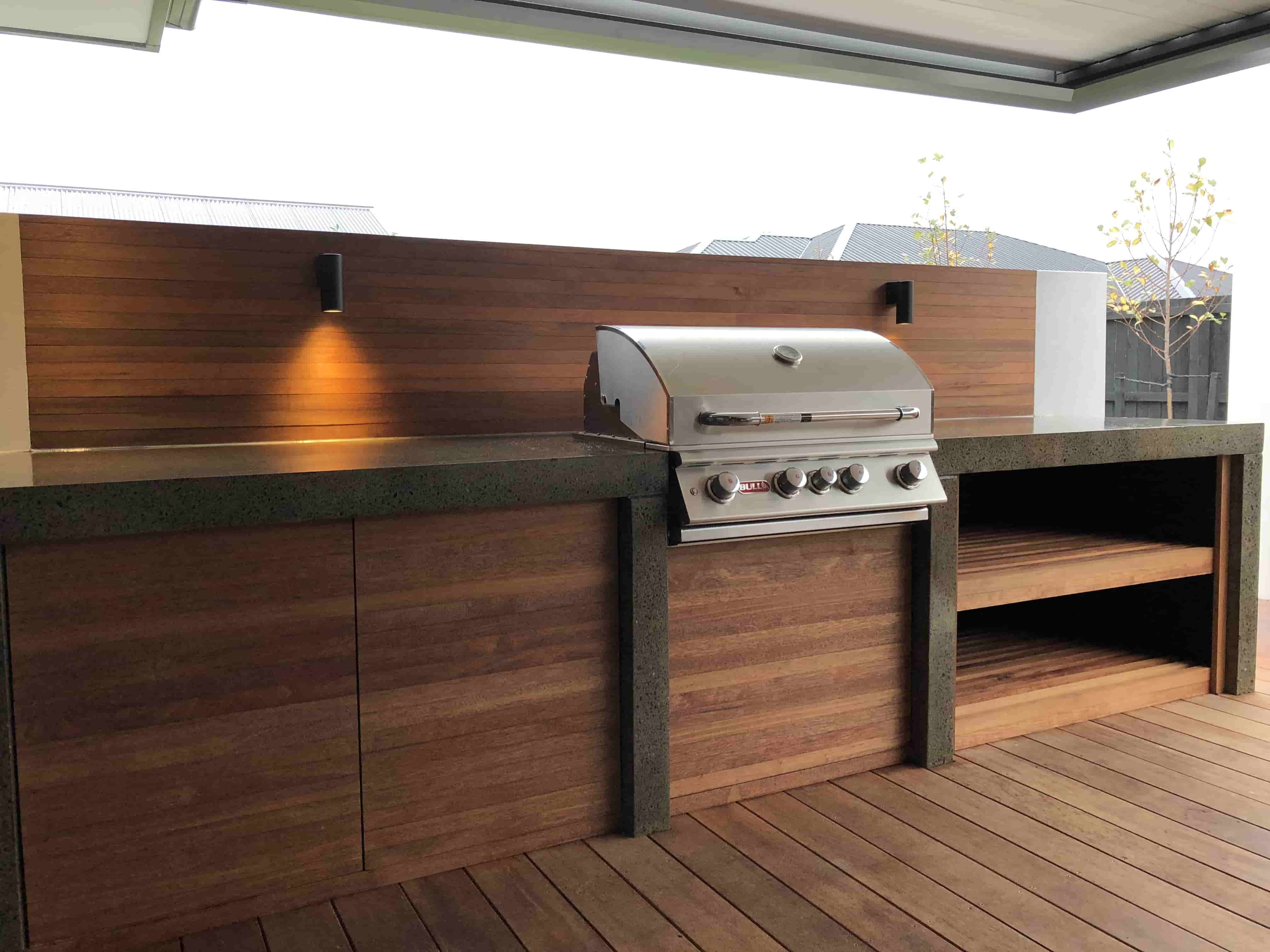 outdoor kitchen grills kitchens christchurch design construction dwg kit set