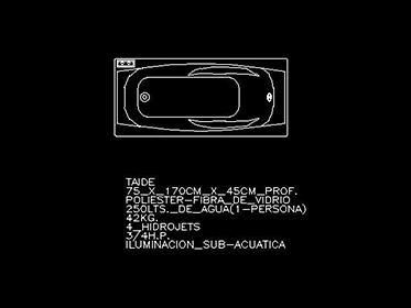 Jacuzzi  Tina de bao  Bloque de mueble Autocad 2d