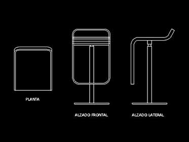 Refrigerador  Nevera Duplex  Bloque de mueble Autocad 2d