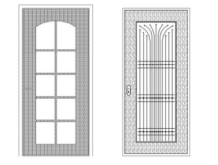 Beautiful Door cad block free download with dwg net website 1