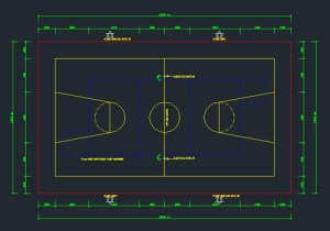 Basket Ball CAD drawing free download form dwg net