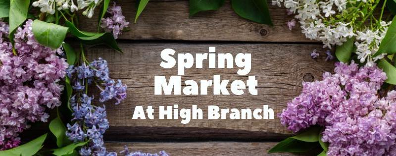 Spring Pop Up Market at High Branch Brewing
