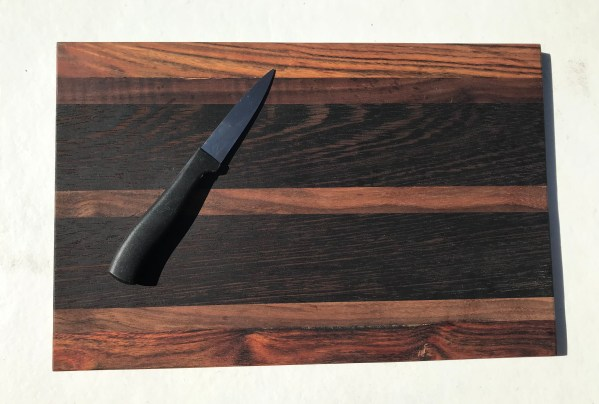 Walnut, Rosewood and Wenge Cutting Board