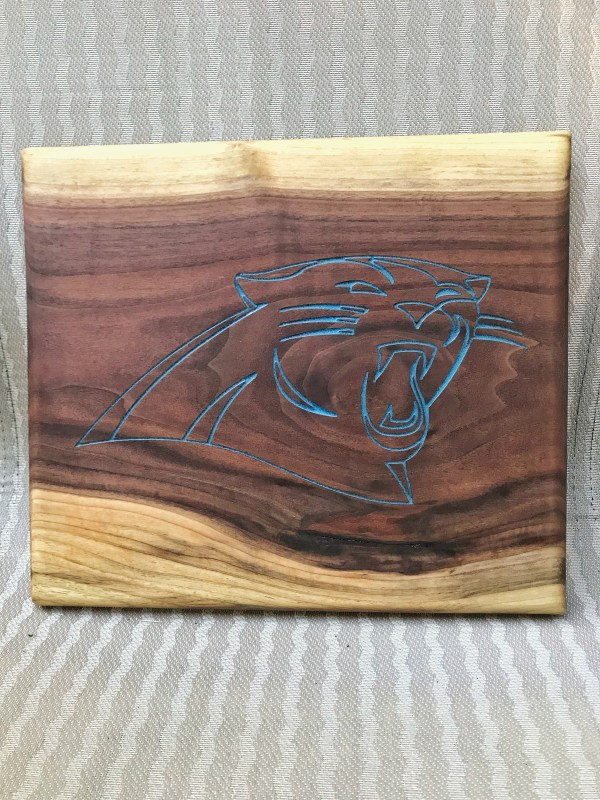 Panthers Logo Cheeseboard