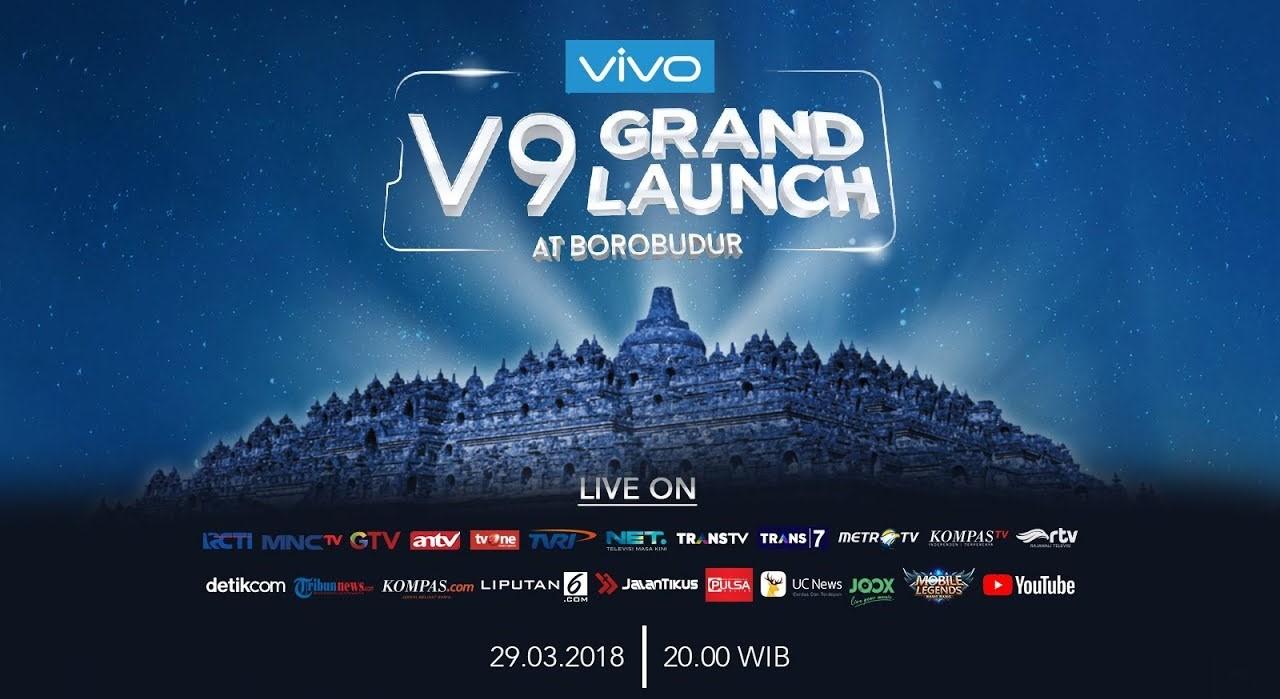 grand launching vivo v9 2018 di borobudur