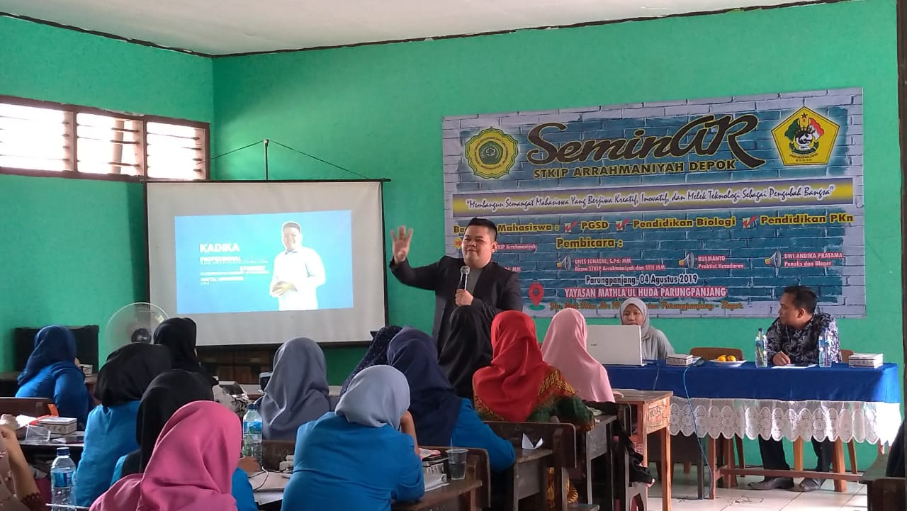 guru digital mengajar melalui blog