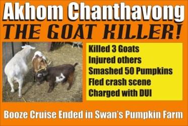 Akhom Chanthavong the Goat Killer