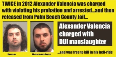 Alexander Valencia charged with DUI manslaughter