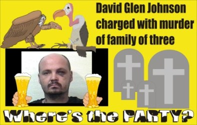 David Glen Johnson charged with murder of family of 3 Michigan