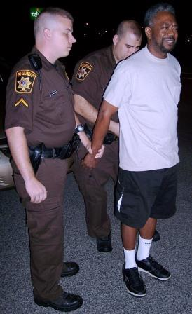 Charles County Md. Sheriff's Patrol Officers make a DWI arrest.