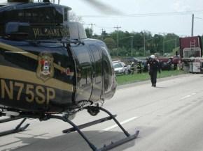 Delaware State Police chopper