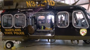 A great way to get a free ride on this new Maryland State Police medevac helicopter is to operate a motorcycle while impaired and go too fast around a curve. DWI HIT PARADE photo