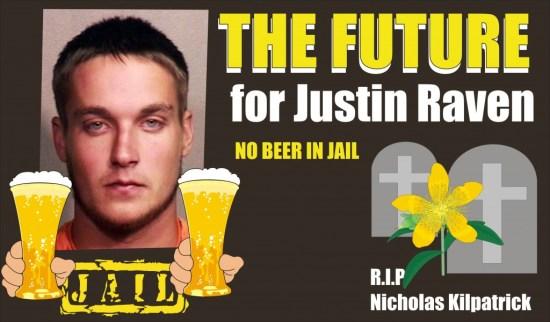 Justin Raven DUI fatal killed Nicholas Kilpatrick