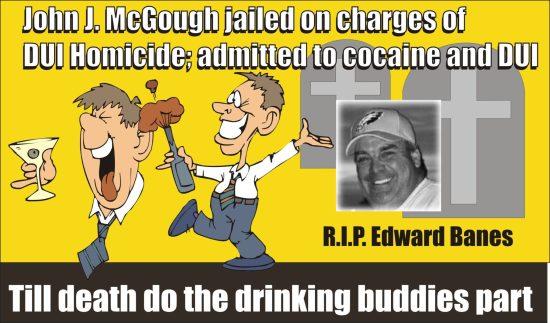John J McGough DUI fatal cocaine