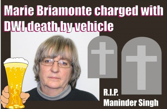 Marie Briamonte charged with DWI fatal Bergen Co NJ 121214