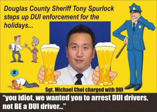 Sgt Michael Choi DUI Apraho County Colo