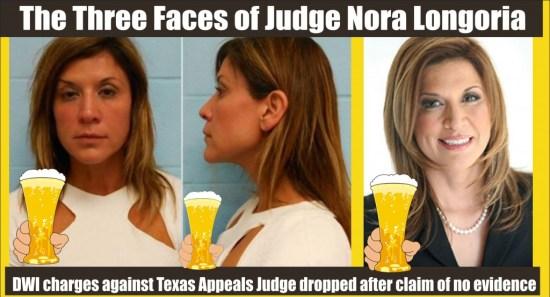 Texas Appeals Court Judge Nora Longoria DWI charges dropped rev 2