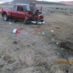 Guage Gray pickup rollover DUI fatal Klamath County Ore. courtesy of KDRV