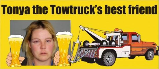 Tonya the towtrucks best friend