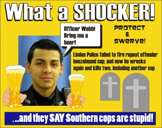 Linden Police kept Officer Pedro Abad on the job in spite of two DUI arrests prior to killing two in fatal DUI