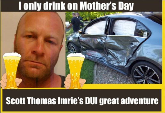 Scott Thomas Imrie DUI arrest Lakeport PD CA 050915
