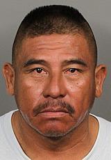 Jesus Sanchez hid in trees after DUI crash in La Quinta Calif.